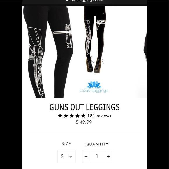 816fb0fda8 Lotus Leggings Pants - Women's Guns Out Lotus Leggings